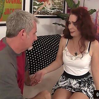 Grandma Sable Renae fucked with fat cock