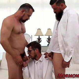 Religious elder buttfucks