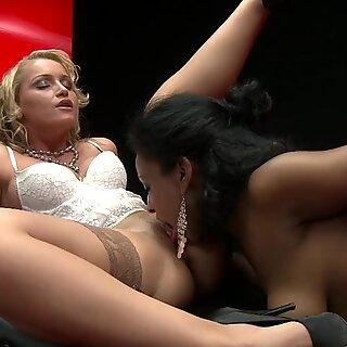 Stunning Kathia Nobili loves finger fucking her partners juicy moist pussy hole