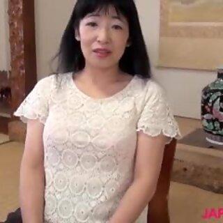 japanese granny yuki yoneyama riding big cock