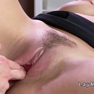 Natural huge tits lesbo fingers Milf