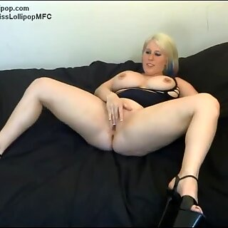 lolli humps bunny with belt cock