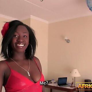 White man fucks african beauty