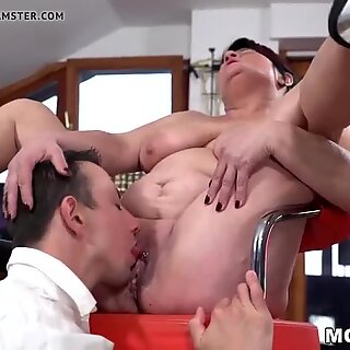 Fat older lady needs a younger cock