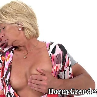 Grandmothers face jizzed