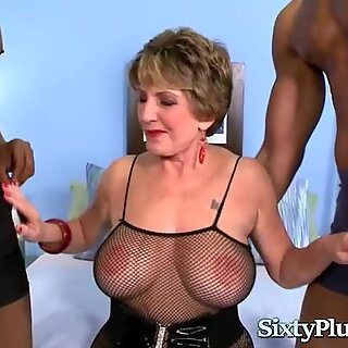 Granny gets blacked
