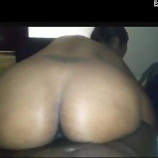ebony milf smokes n strokes her man s bbc