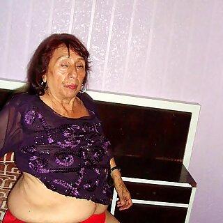 LatinaGrannY Blowjob and Granny Sex Compilation
