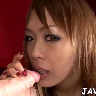 Oriental beauties do porn