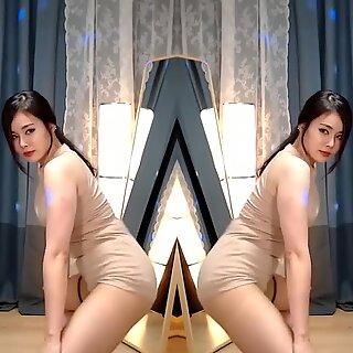 Korean Girls Twerk for Cock - PMV