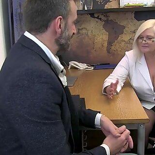 AgedLovE Hot Mature British Blonde Hardcore