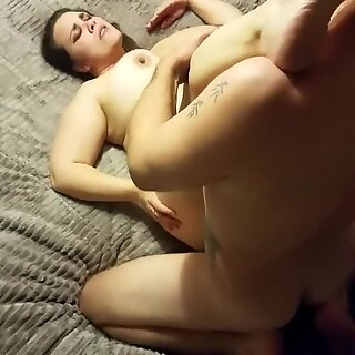 lush GIRL WITH PIGTAILS jacks MY nads (HOMEMADE PART 1 OF 3)