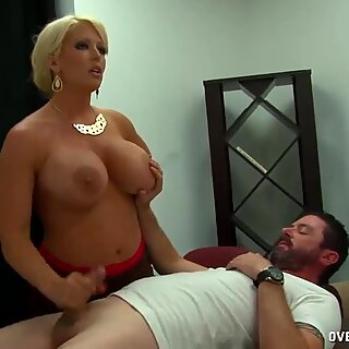 Teacher Tries To Fix His Lower Grades Stroking Cock