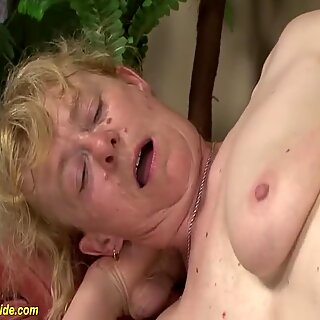 Birthday fuck for 80 year old mom