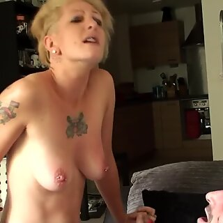 Filthy uk submissive ass and throat fucked
