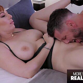 Hot Sensual Sex With Beautiful Redhead Babe - RealSensual