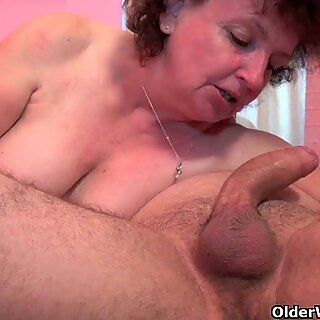 Grandma will take your cum load anytime