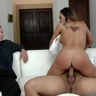 Wifey Rides A Strangers Cock And Enjoys The Deep Sex