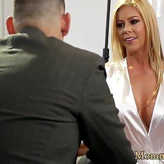 Alluring milf seduces her new stepdaughter