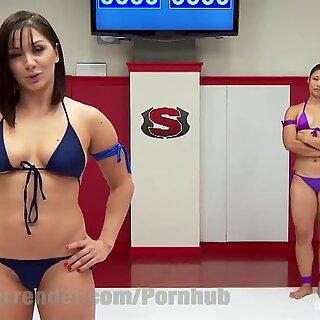 professional domina VS Legit Wrestler