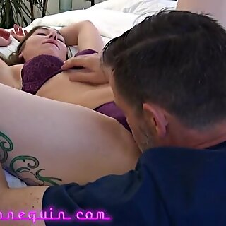 Richard Nailder Shares Oral Favors With Chastity Leigh