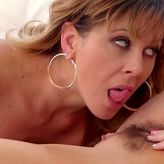 Lesbian MILF Step-Sisters Eat Each Other's Hot Boxes