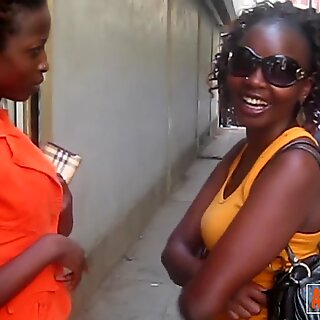 Nigeria girls eating ebony pussy