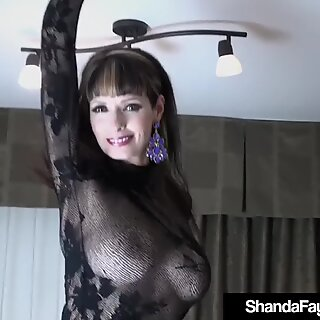 Sex Crazed Cougar Shanda Fay Gets a Big Hard Dick From Hubby